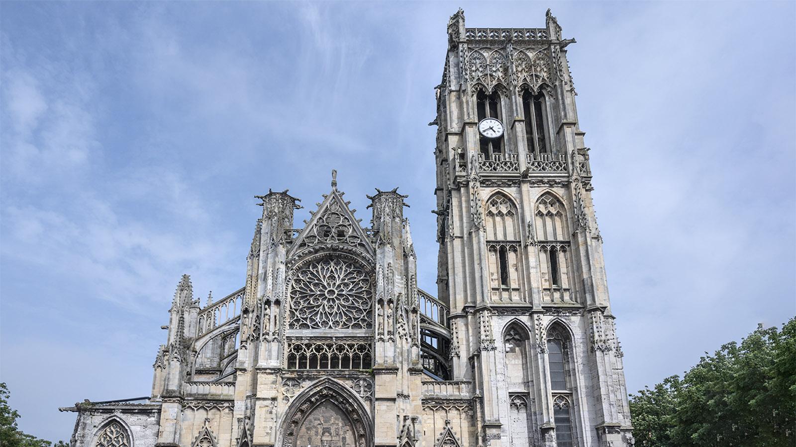 Die Église Saint-Jacques von Dieppe. Foto: Hilke Maunder