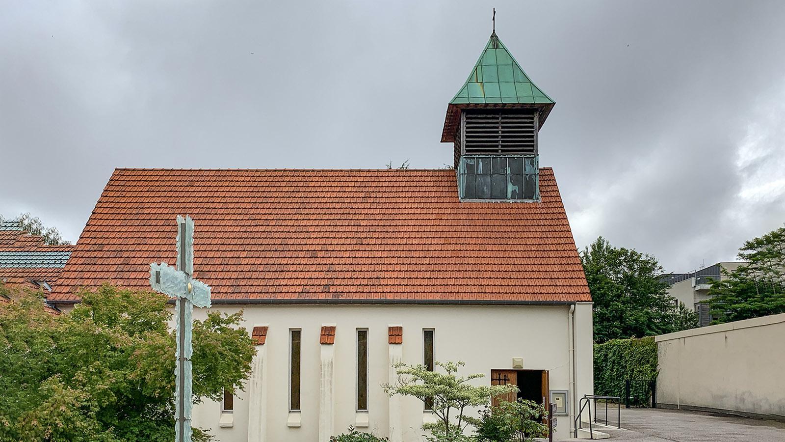 Die Kirche des Karmeliterinnenklosters von Le Havre. Foto: Hilke Maunder