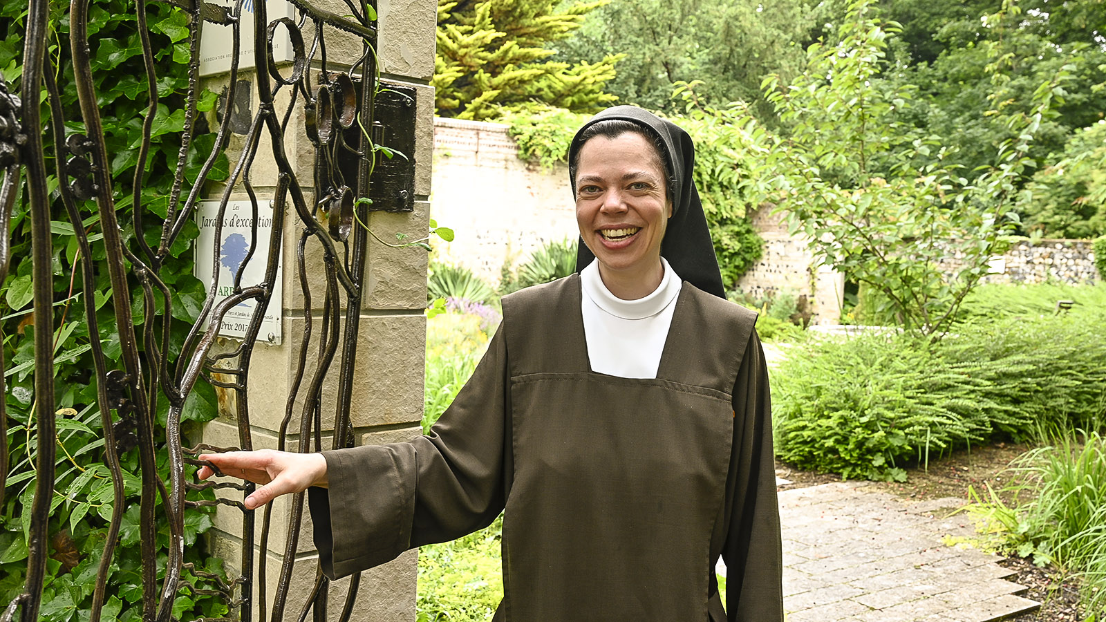Schwester Marthe-Bénédicte. Foto: Hilke Maunder