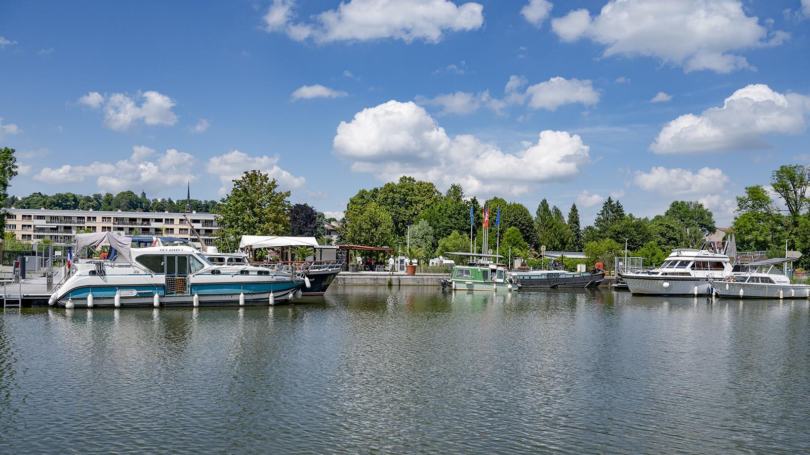 Der Hafen von Montbéliard. Foto: Hilke Maunder