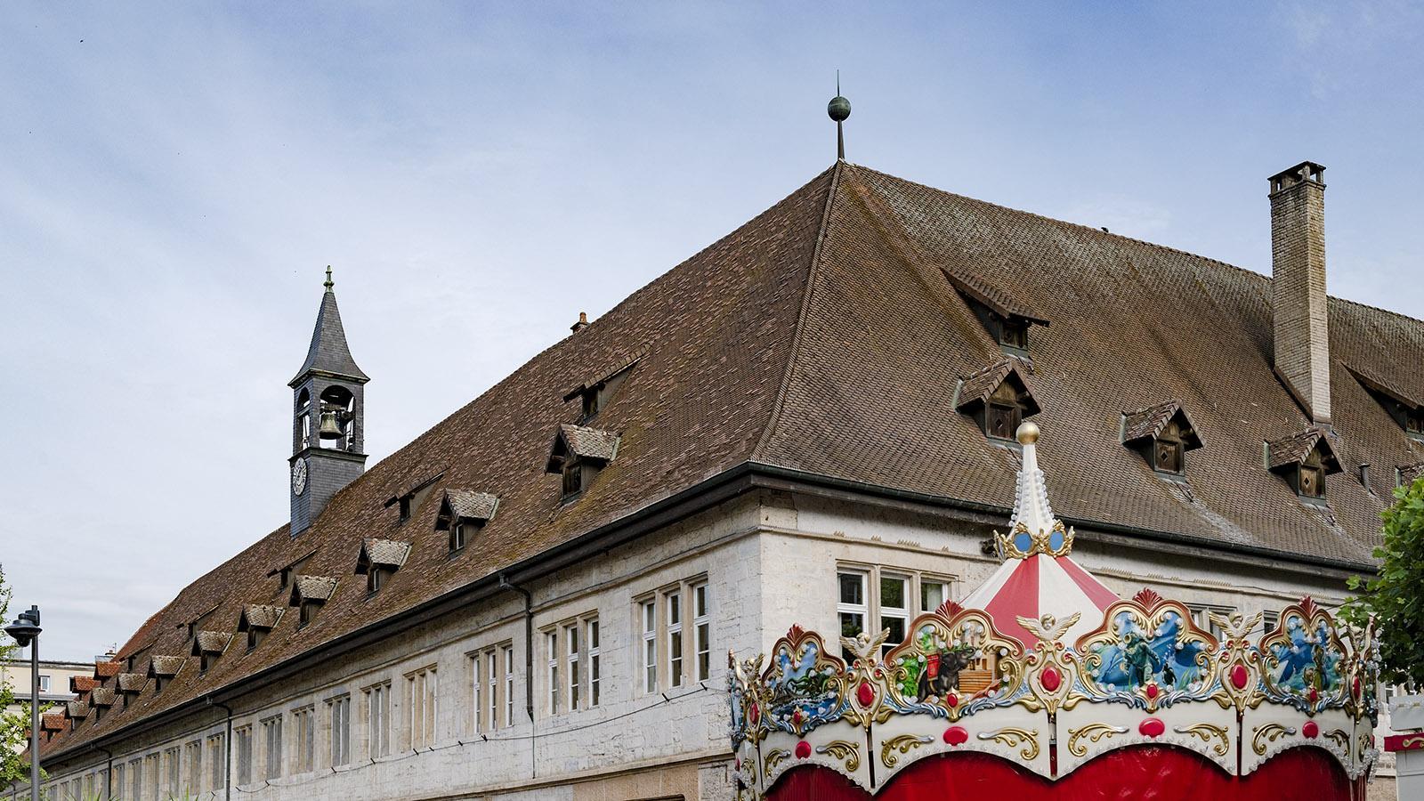 Die Markthalle von Montbéliard. Foto: Hilke Maunder