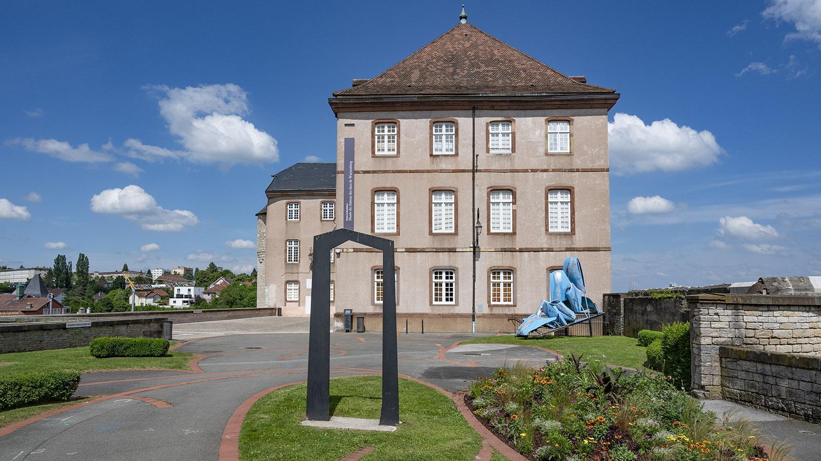Das Schloss von Montbéliard. Foto: Hilke Maunder