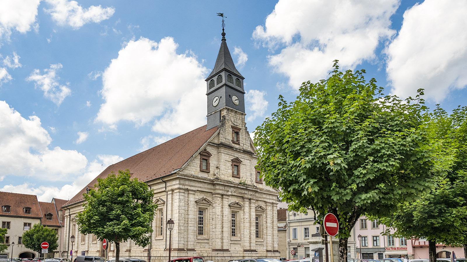 Der <em>temple Saint-Martin</em> ist die älteste evangelische Kirche Frankreichs. Foto: Hilke Maunder