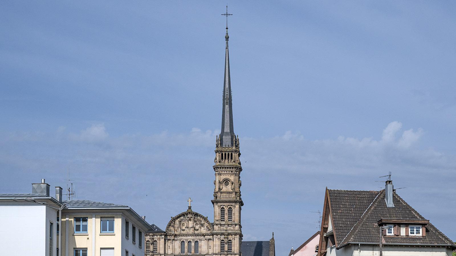 Die katholische Kirche Église Saint-Maimboeuf. Foto: Hilke Maunder