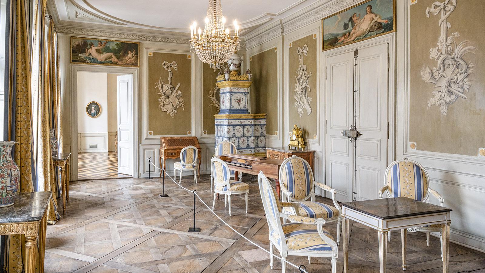 Bürgerliche Lebensart im <em>Musée de l'Hôtel Beurnier-Rossel</em>. Foto: Hilke Maunder