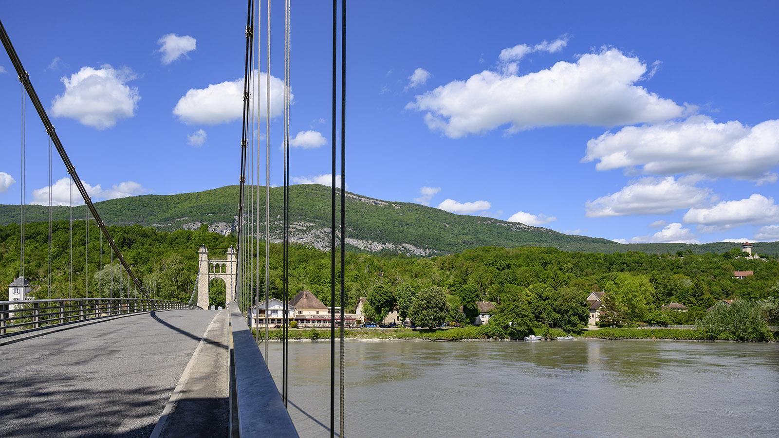 Die Rhônebrücke von Grosee. Foto: Hilke Maunder