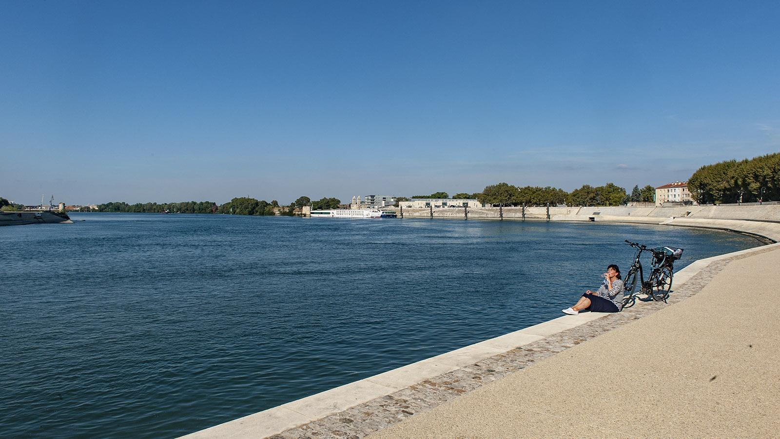 Die Kais von Arles. Foto: Hilke Maunder
