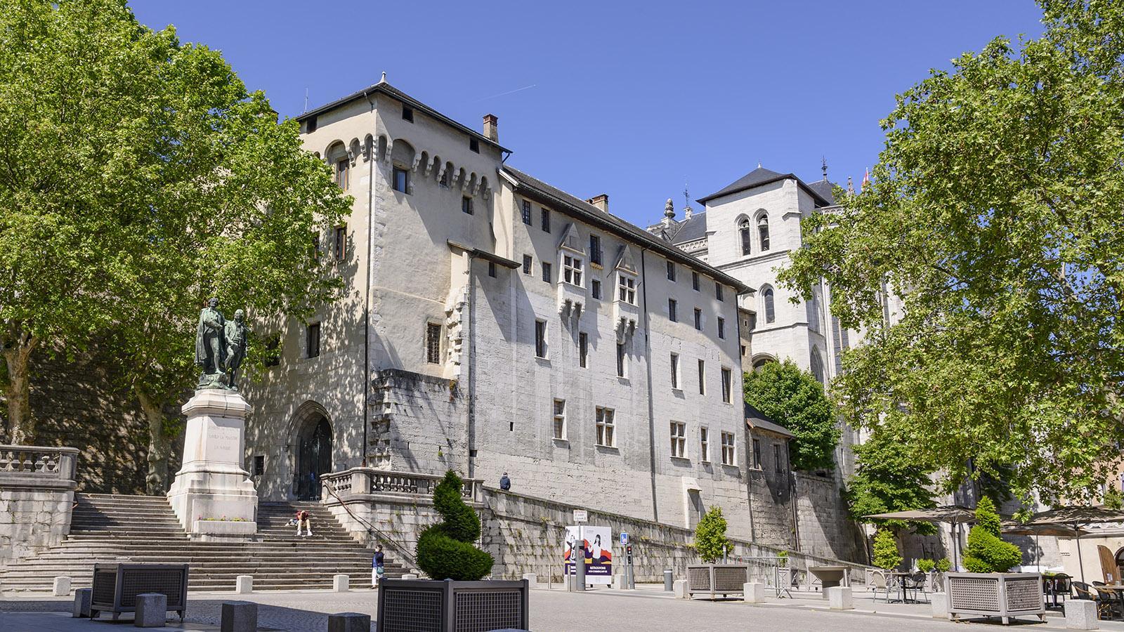 Das Schloss der Herzöge von Savoyen. Foto: Hilke Maunder