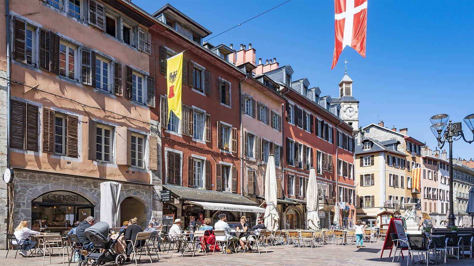 Die Place Saint-Léger. Foto: Hilke Maunder