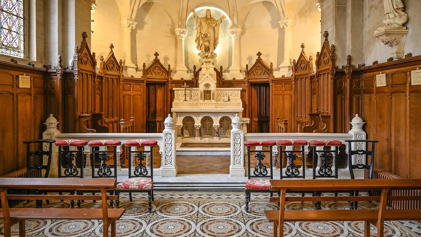 Das Kirchenschiff. Foto: Hilke Maunder