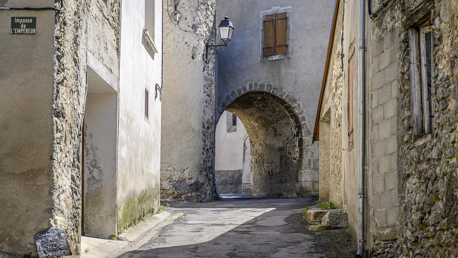 Die Grande Rue von Counozouls. Foto: Hilke Maunder