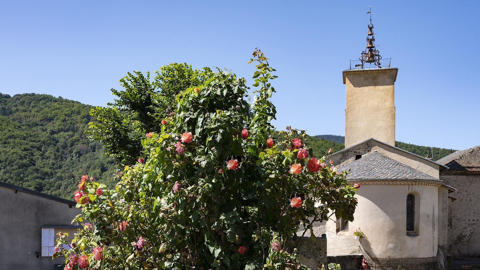 Die Kirche von Counozouls: Foto: Hilke Maunder