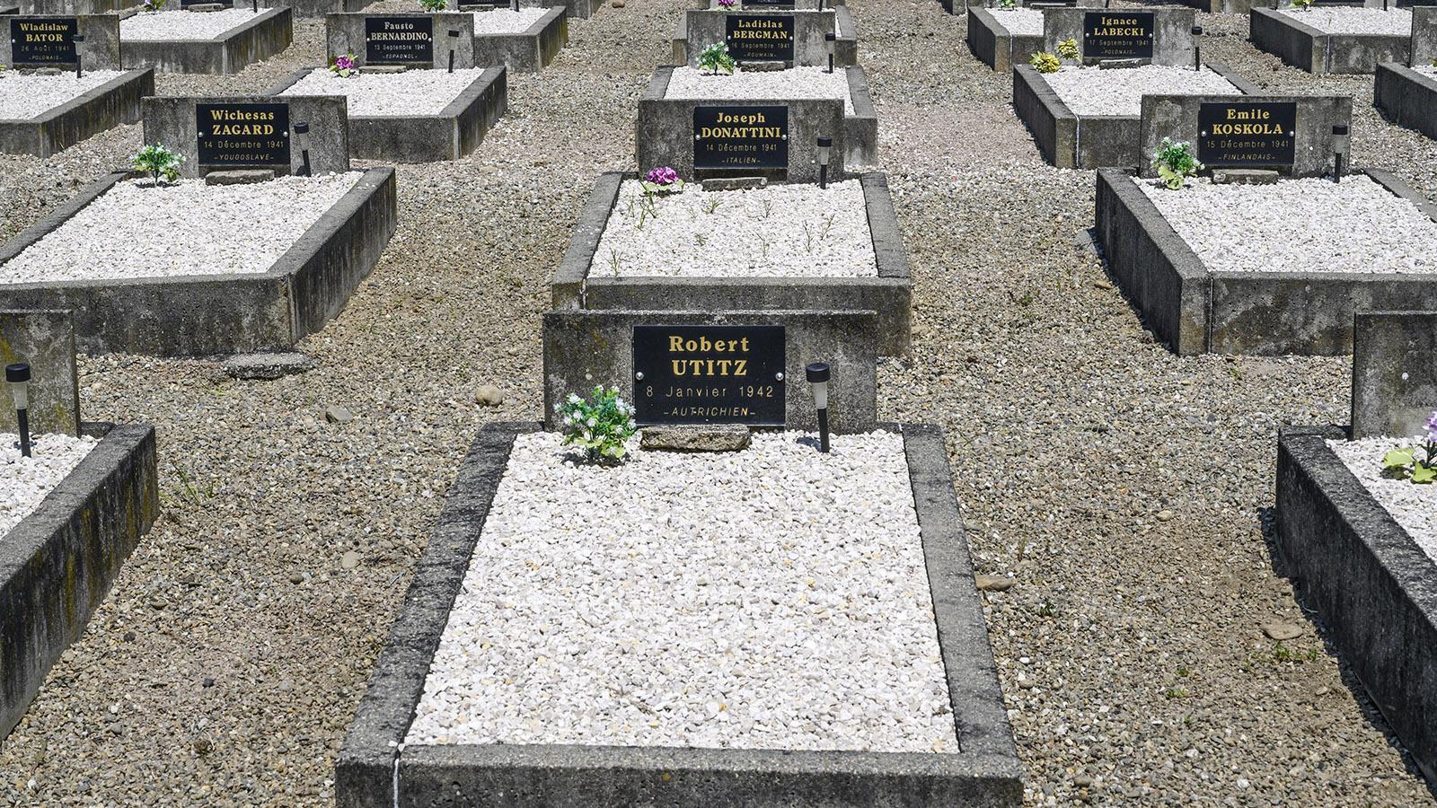 Der Österreicher Robert Utitz verstarb 1942 in Le Vernet. Foto: Hilke Maunder