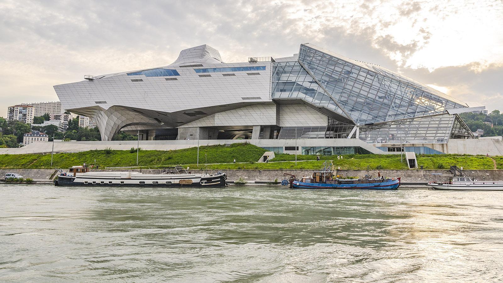 Das Musée des Confluences von Lyon. Foto: Hilke Maunder