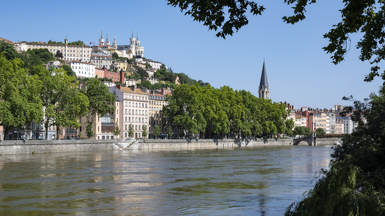 Angekommen am Ziel: die Sâone in Lyon. Foto: Hilke Maunder