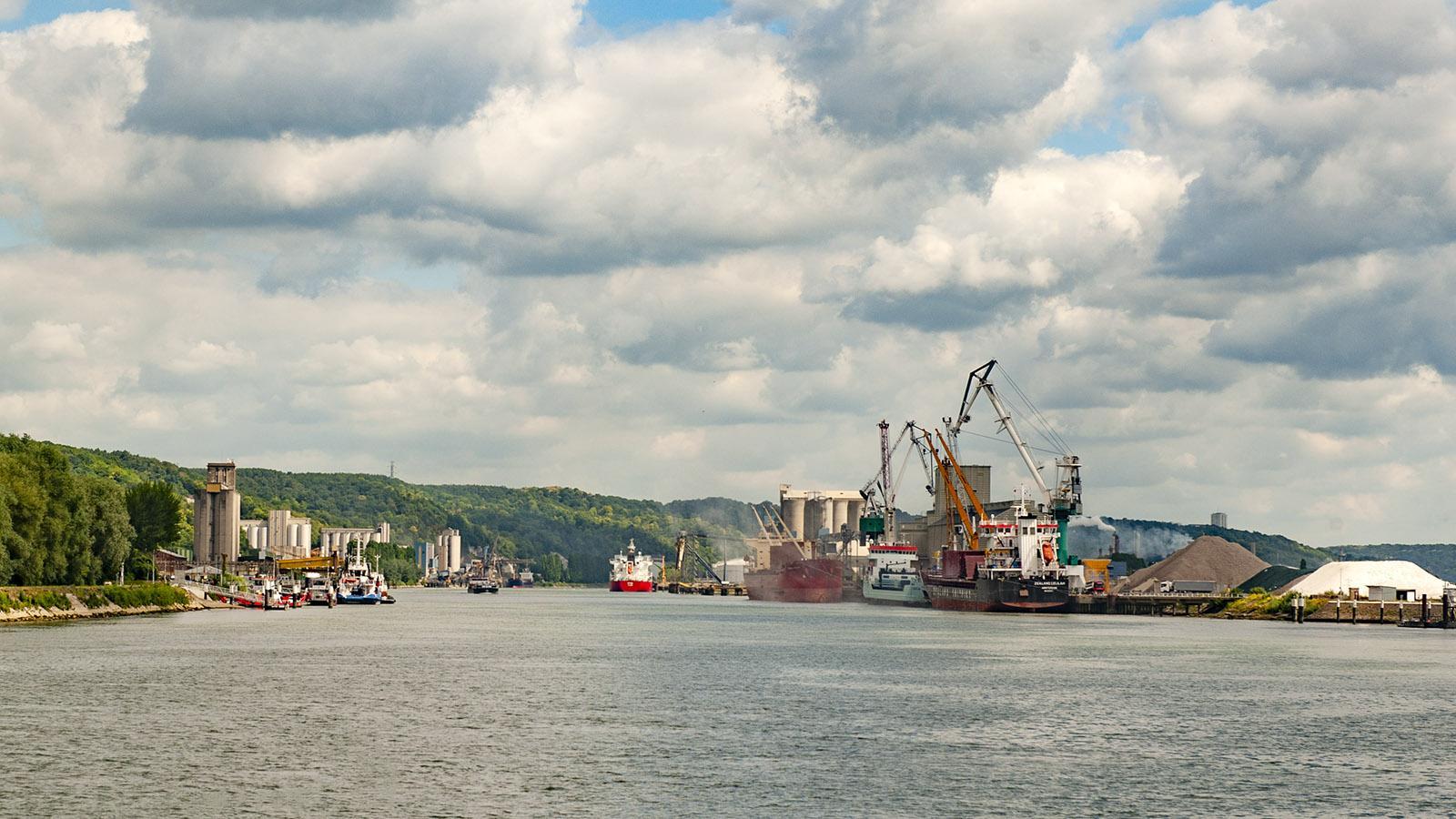 Der Hafen von Rouen. Foto: Hilke Maunder