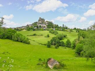 Turenne und seine Burg. Foto: Hilke Maunder