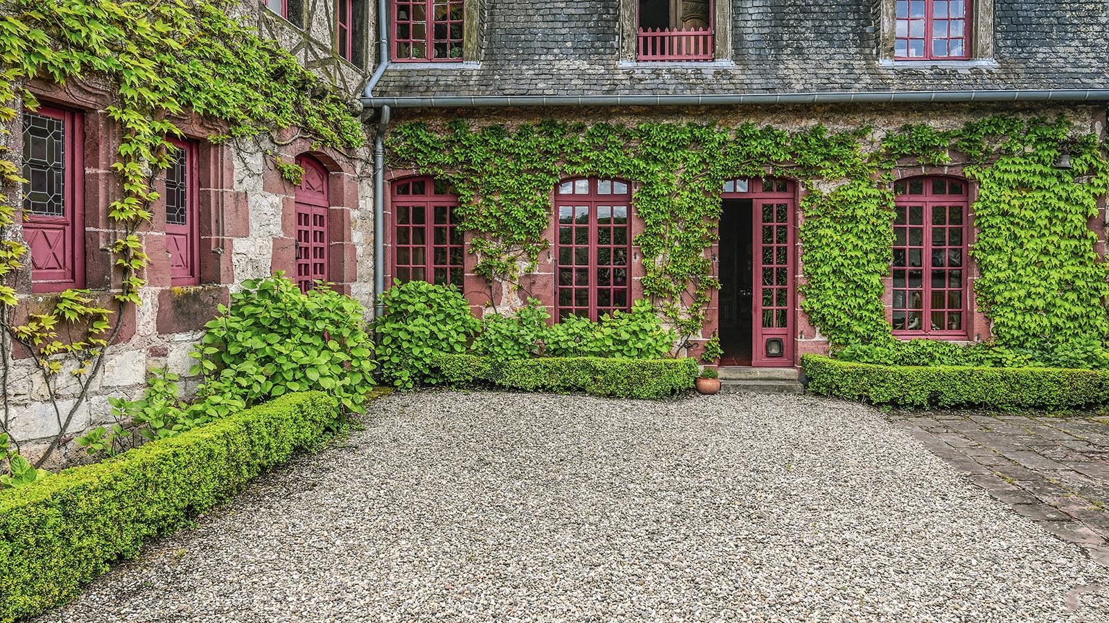 Hier wohnt Camille Zambaux privat. Foto: Hilke Maunder