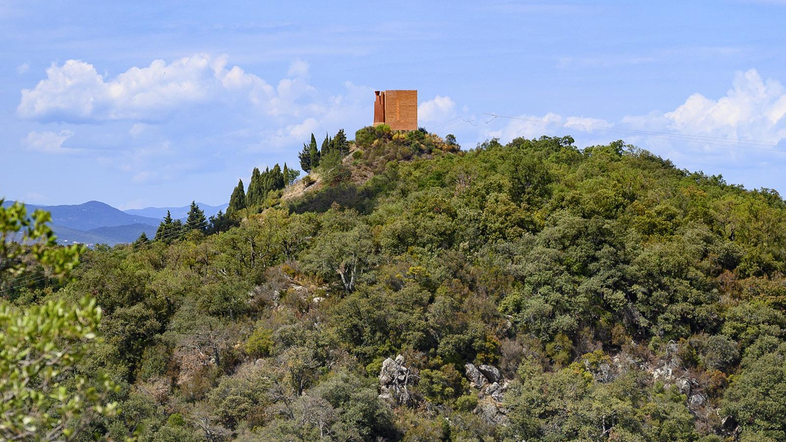 Das Catalunya-Denkmal von Bofill. Foto: Hilke Maunder