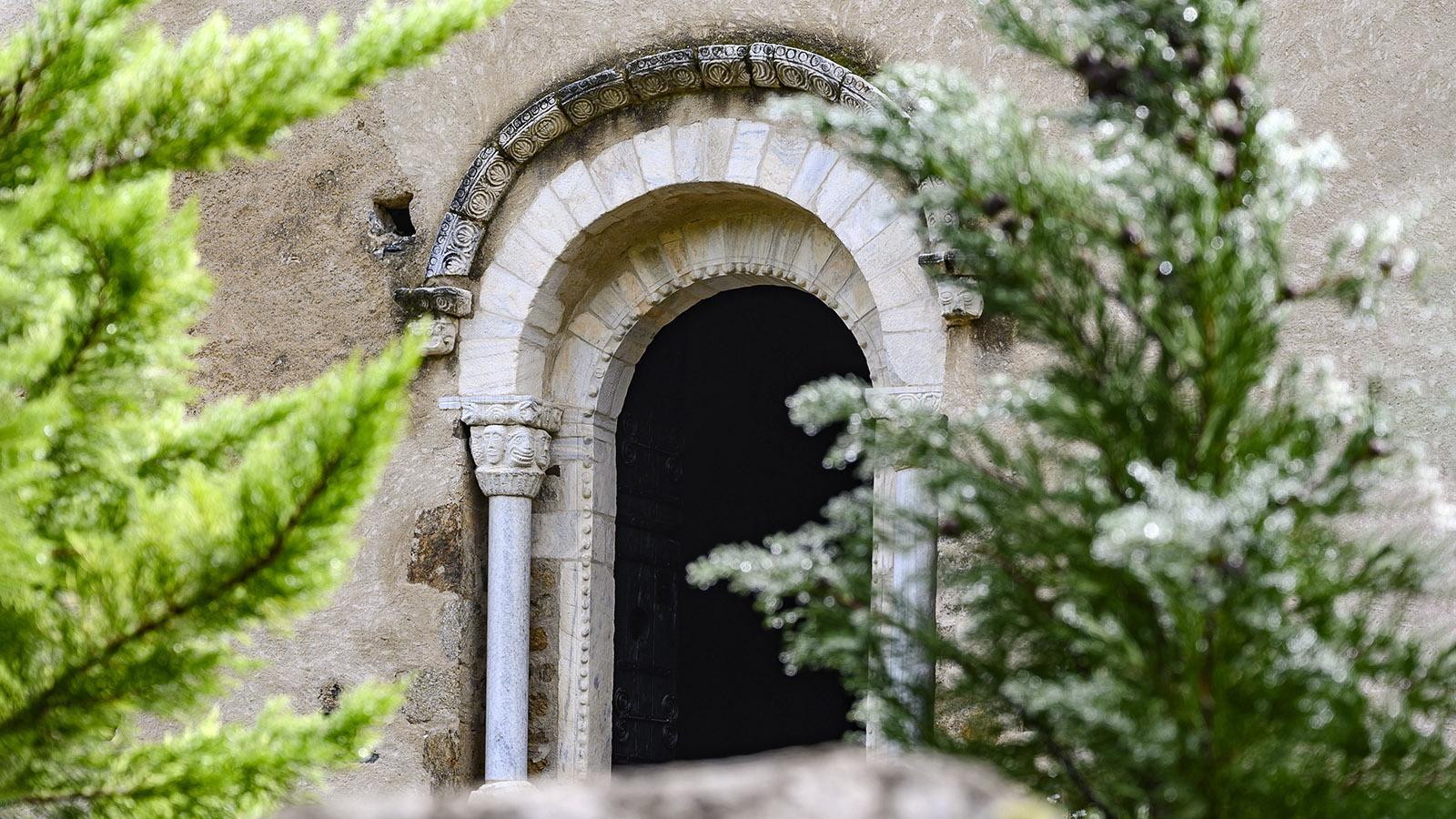 Die Eingangspforte des Priorat. Foto: Hilke Maunder