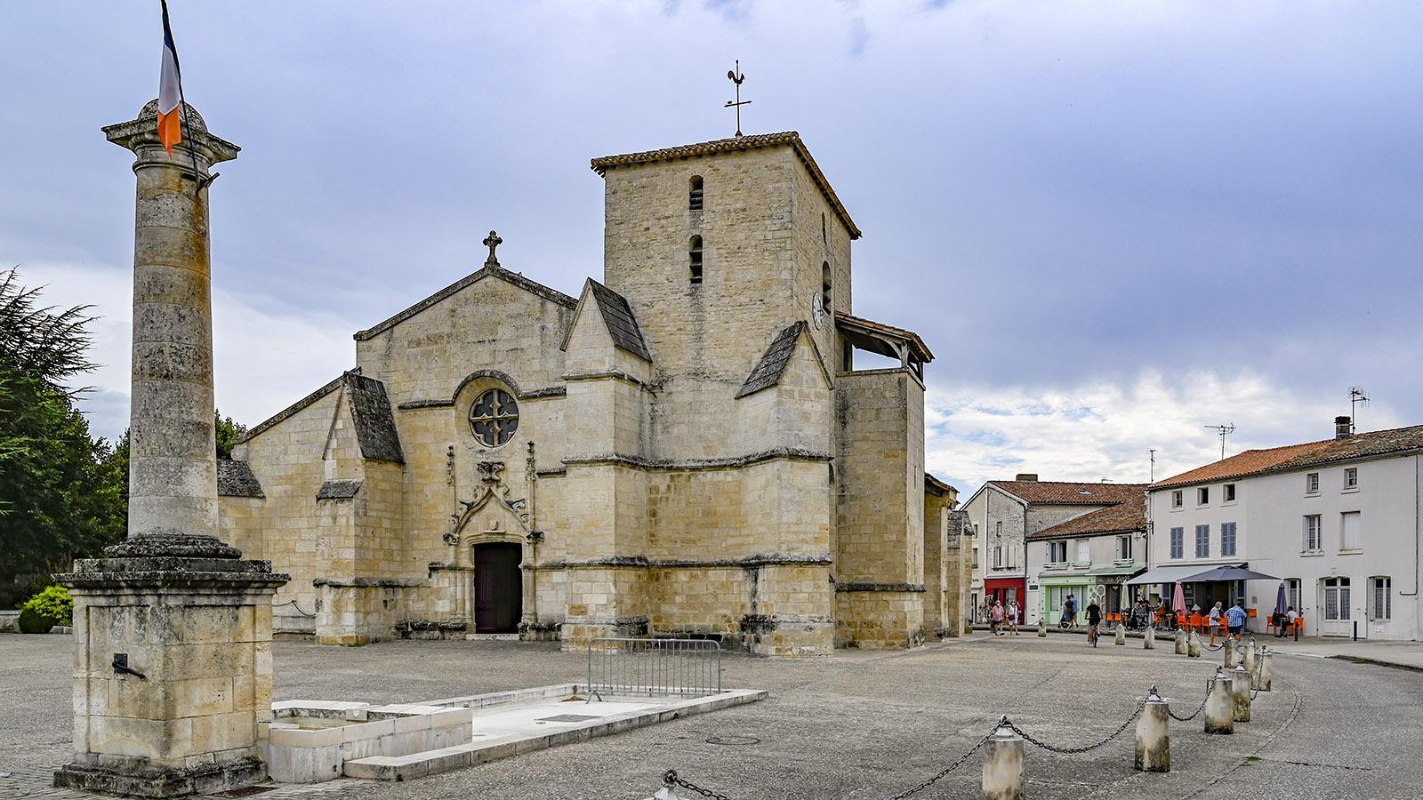 Die Dreifaltigkeitskirche von Coulon. Foto: Hilke Maunder
