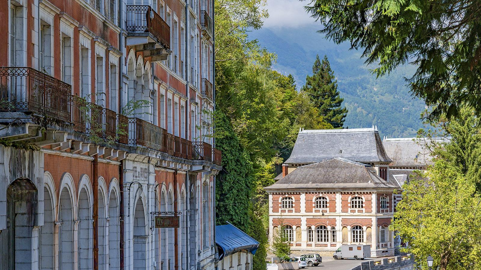 Der Blick vom Hôtel des Princes auf das Kasino. Foto: Hilke Maunder