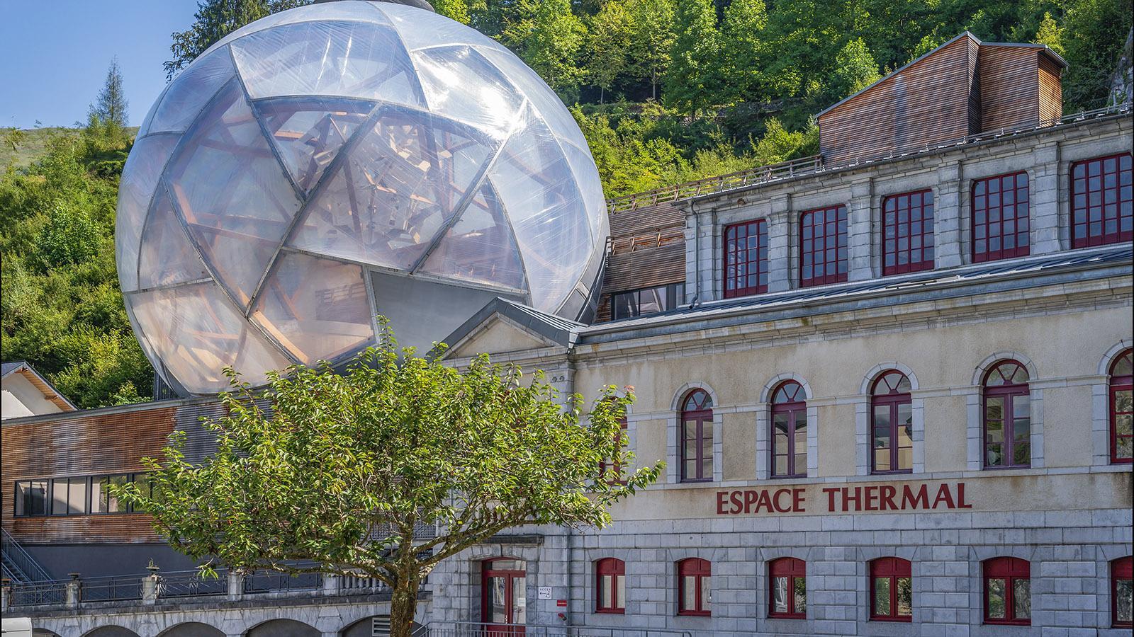 Das Kurbad mit seiner <em>bulle</em>. Foto: Hilke Maunder