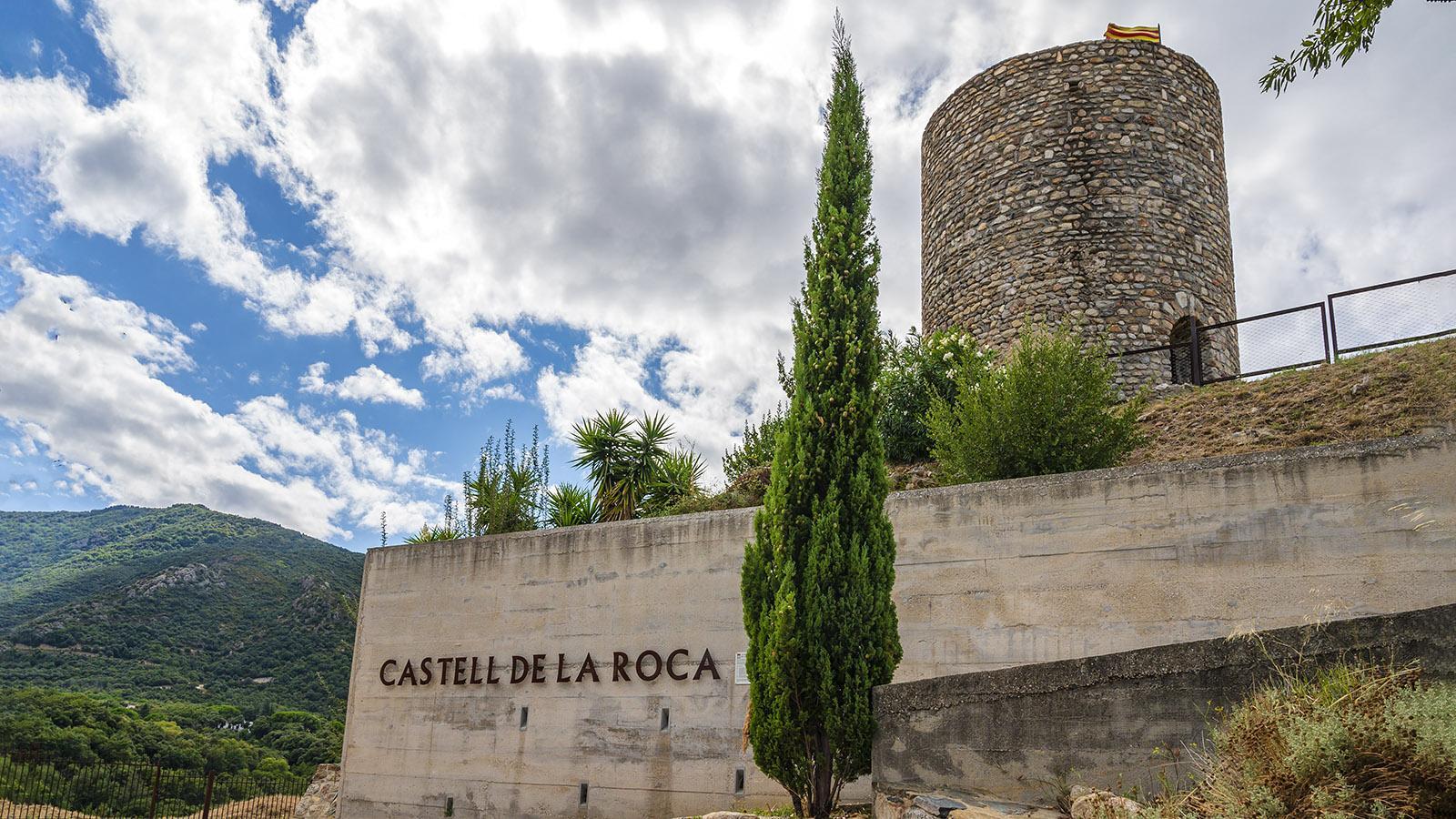Die letzten Überreste der Burg von Laroque. Foto: Hilke Maunder