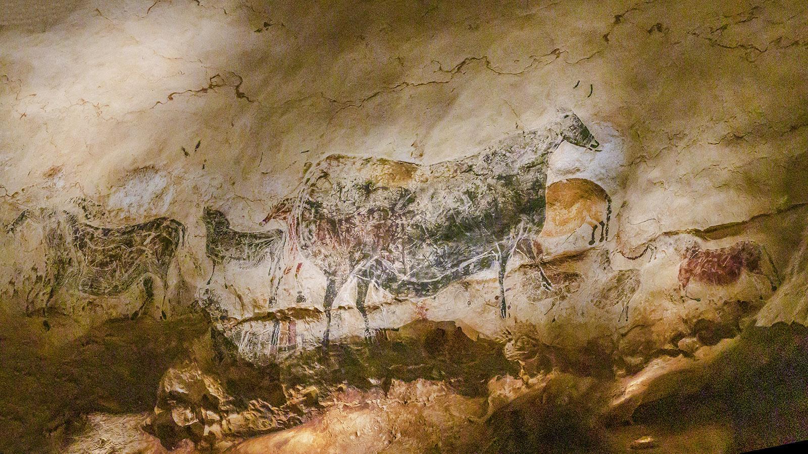 Eine perfekte Imitation: die prähistorische Grotte Lascaux IV. mit ihren Höhlenmalereien. Foto: Hilke Maunder