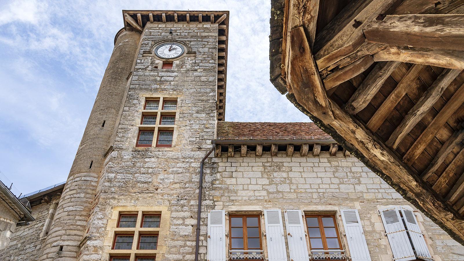 Der Rathausturm. Foto: Hilke Maunder