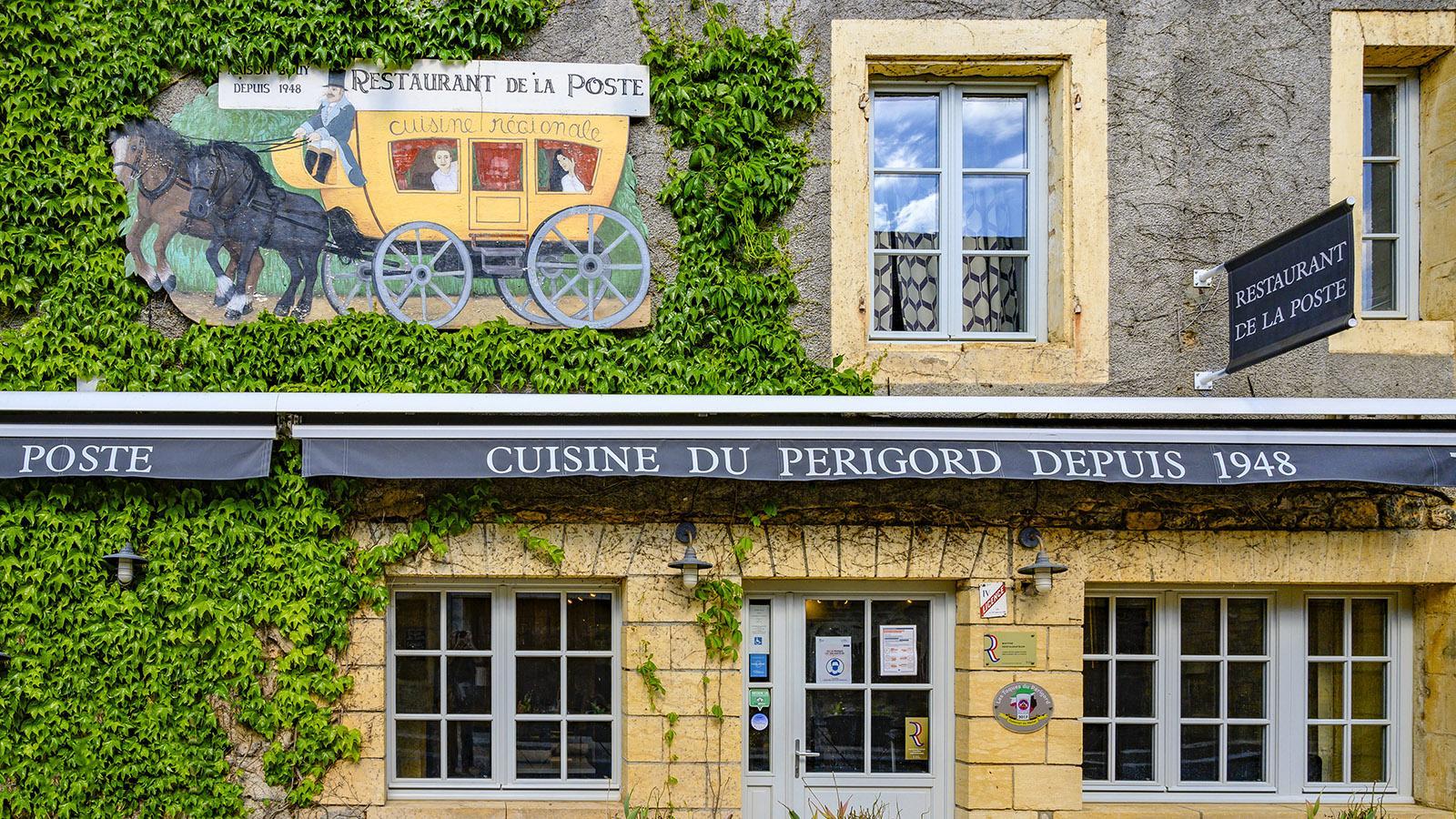 Das Restaurant de la Poste ist seit 1948 eine beliebte wie gute Adresse. Foto: Hilke Maunder