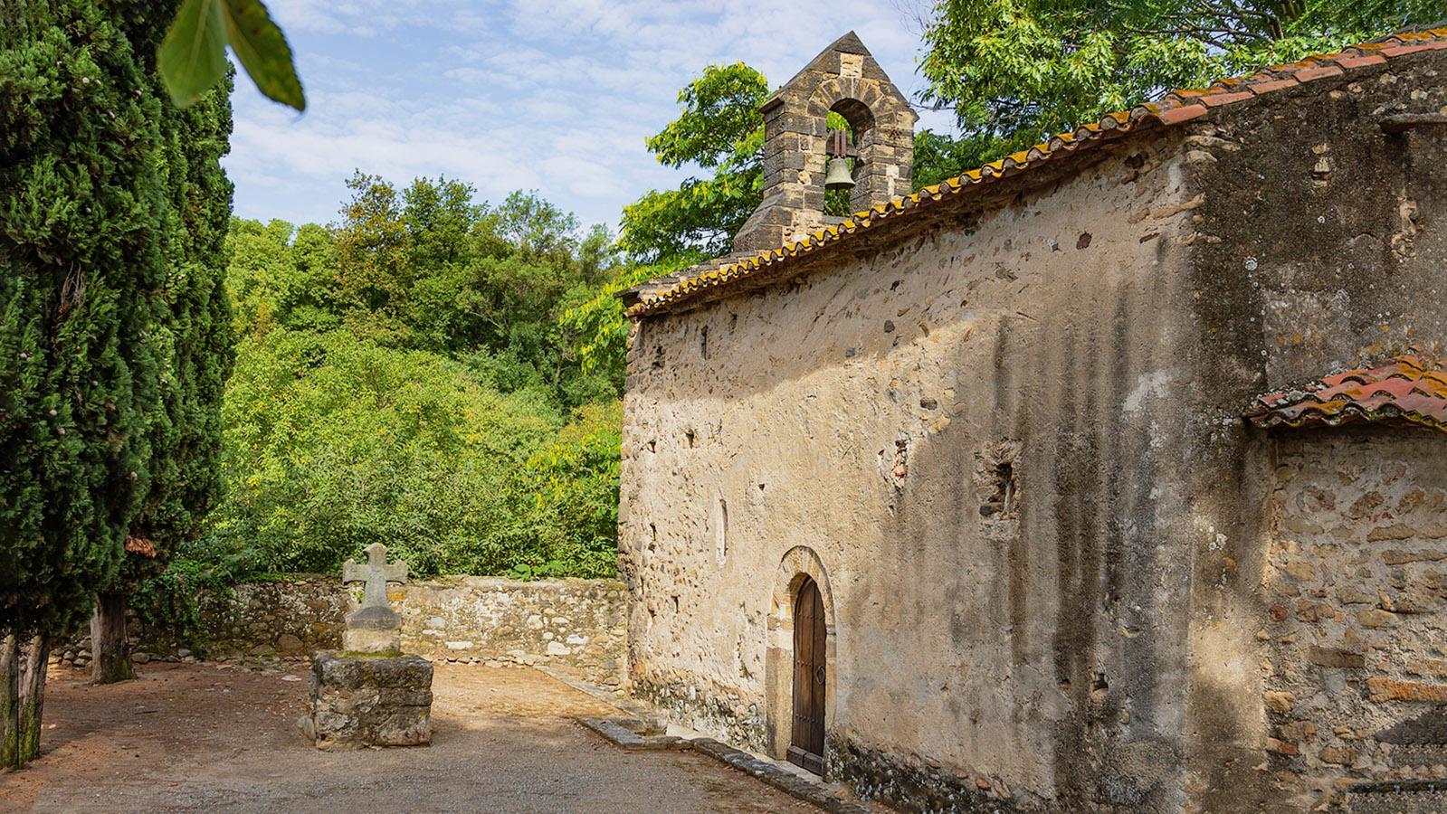 Die Kapelle von Saint-Martin-de-Fenollar. Foto: Hilke Maunder