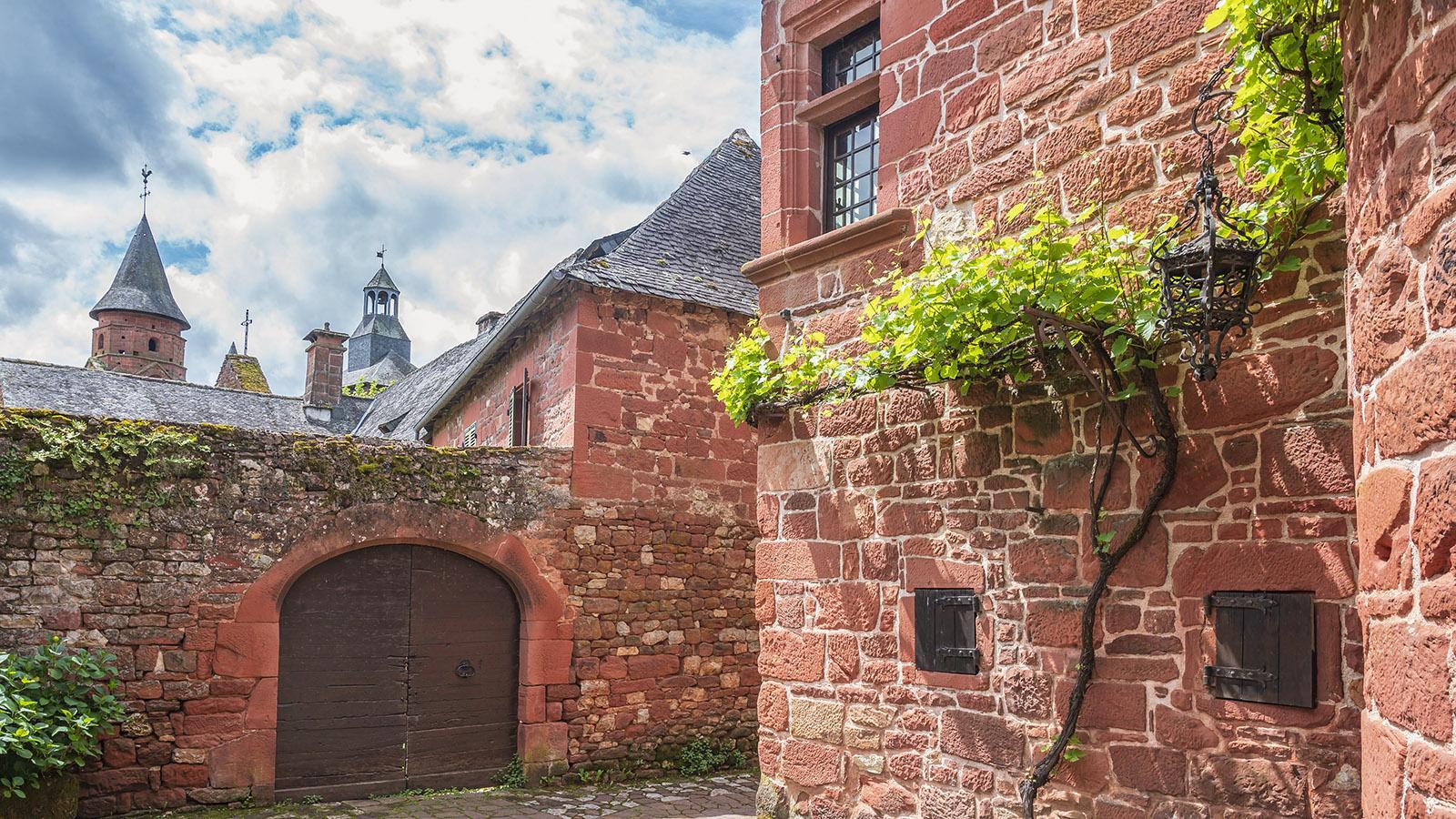 Collonges-la-Rouge. Foto: Hilke Maunder
