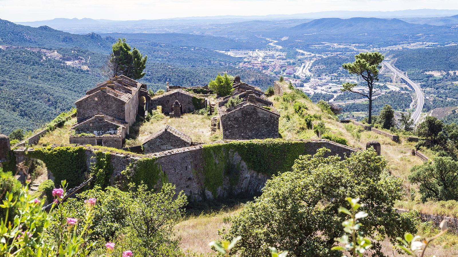 Der Ausblick Richtung Süden mit La Jonquera. Foto: Hilke Maunder