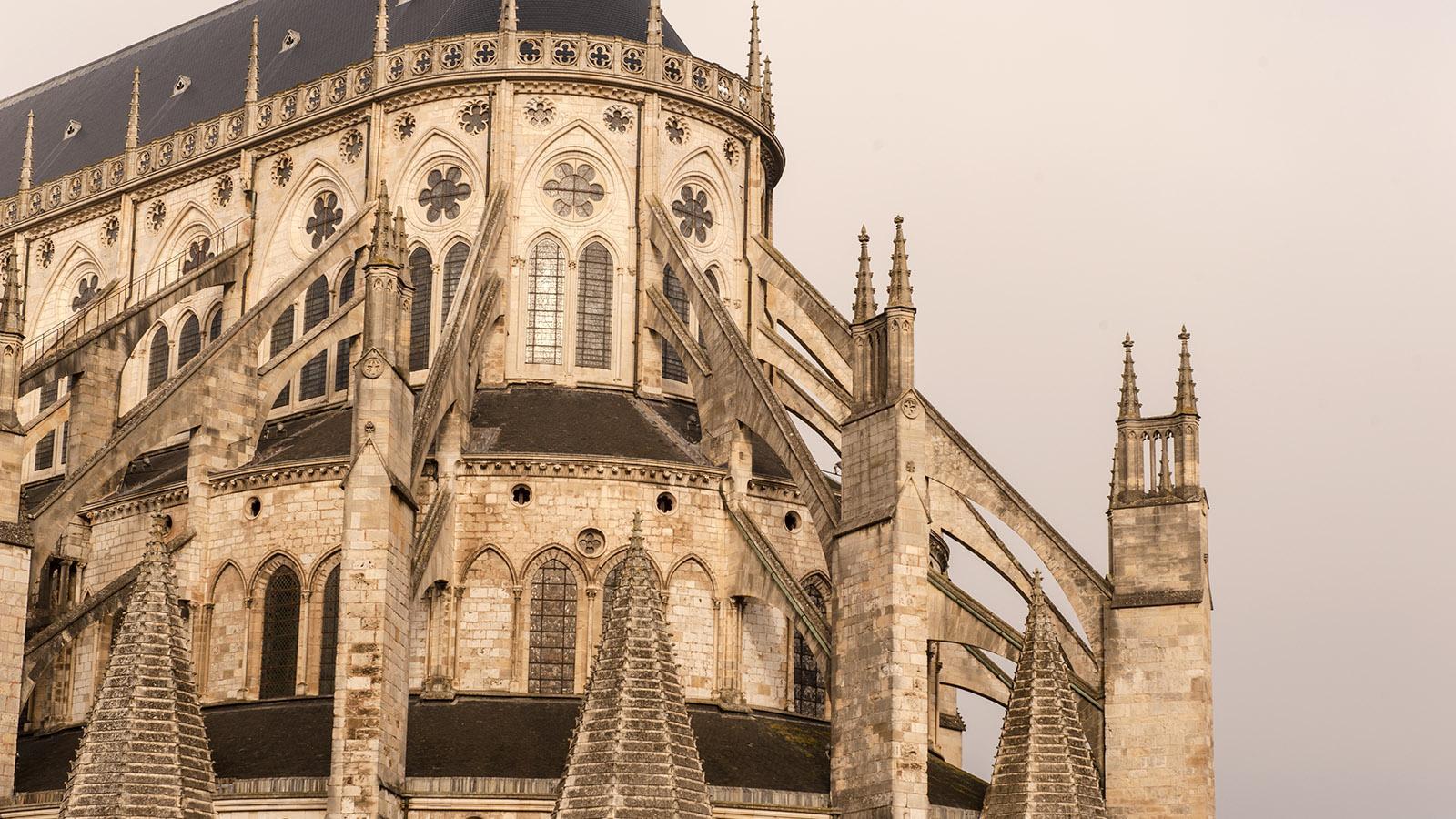 Der Chor der Kathedrale von Bourges. Foto: Hilke Maunder