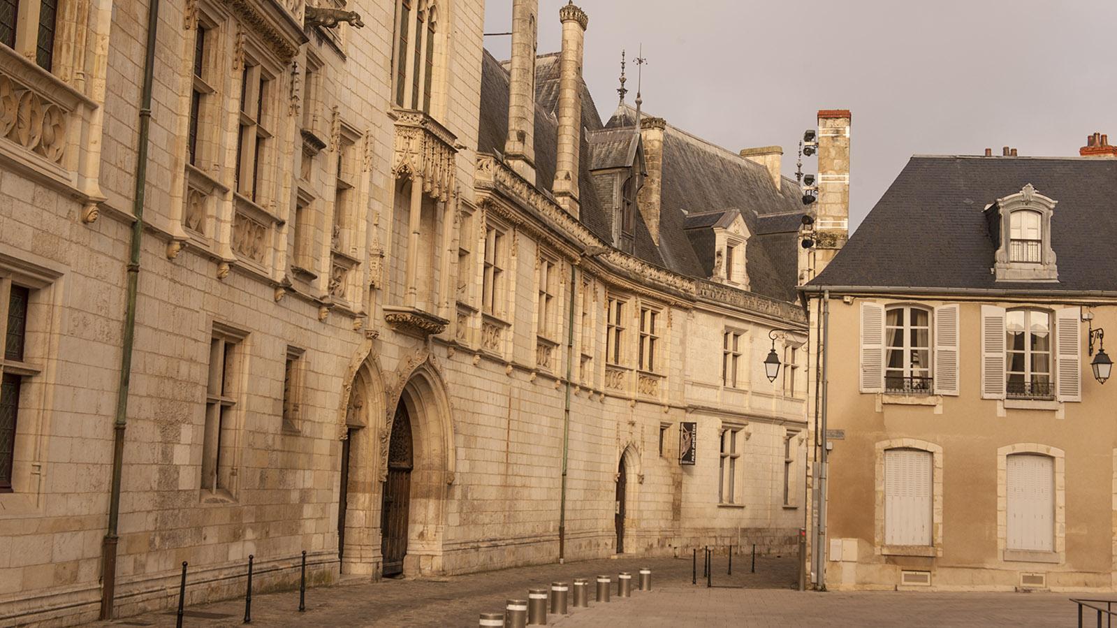 Der Palais Jacques Cœur von Bourges, der alten Hauptstadt des Berry. Foto: Hilke Maunder
