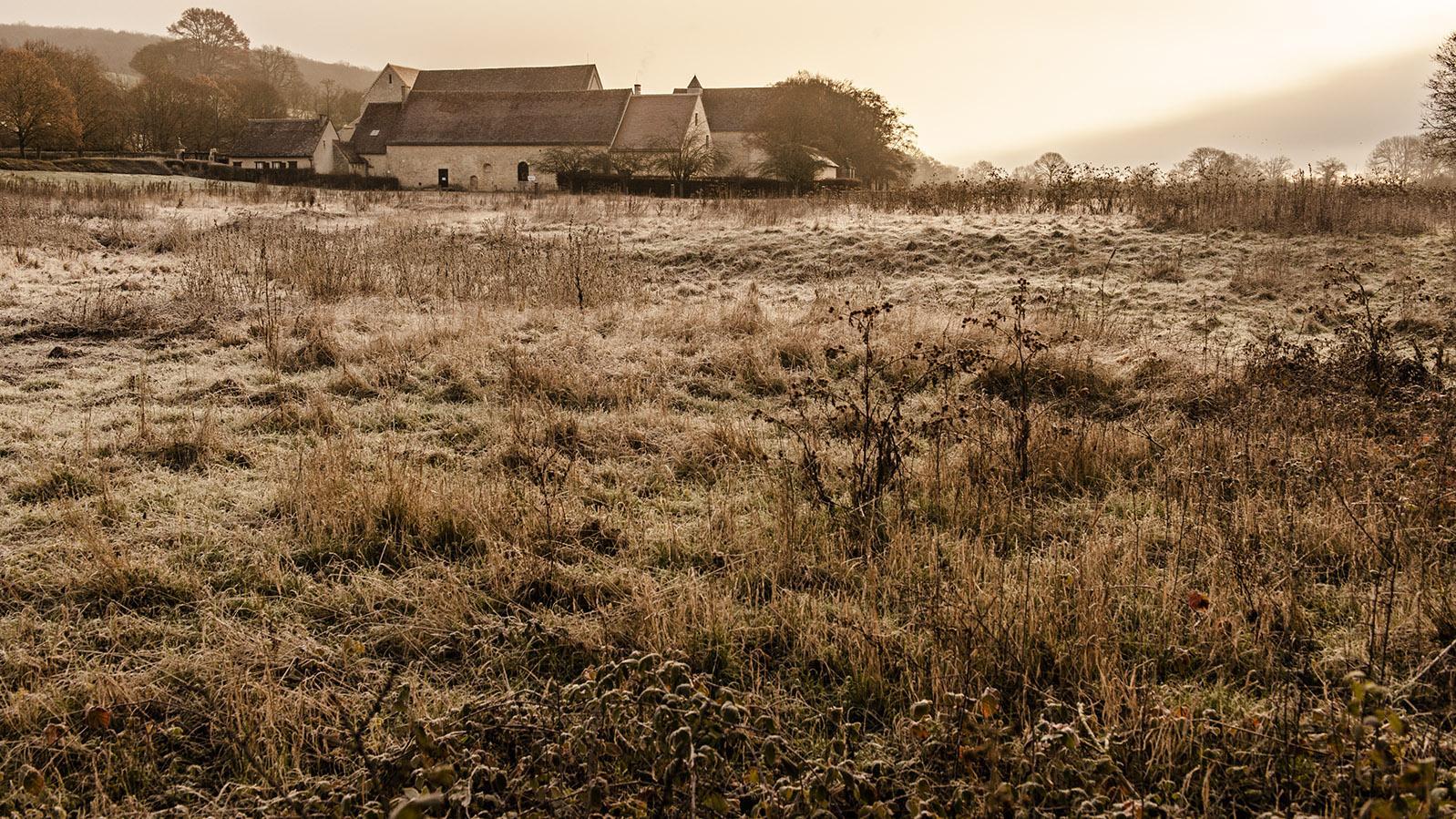 L'Abbaye de Noirlac, eine ehemalige Zisterzienserabtei Bruère-Allichamps im Berry. Foto: Hilke Maunder