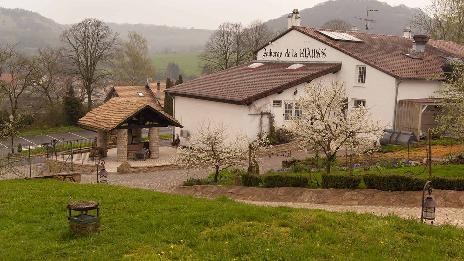 Domaine de la Klauss. Die Auberge de la Klaussm Keimzelle des Hospitality-Komplexes. Foto: Hilke Maunder