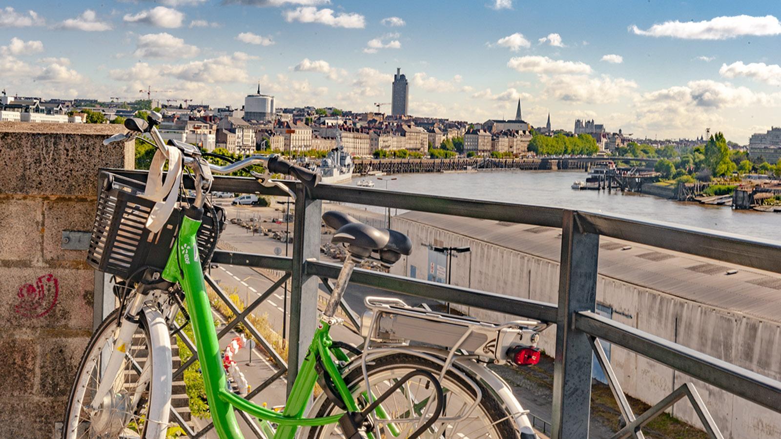 Mit dem Stadtrad lässt sich Nantes perfekt erkunden. Foto: Hilke Maunder