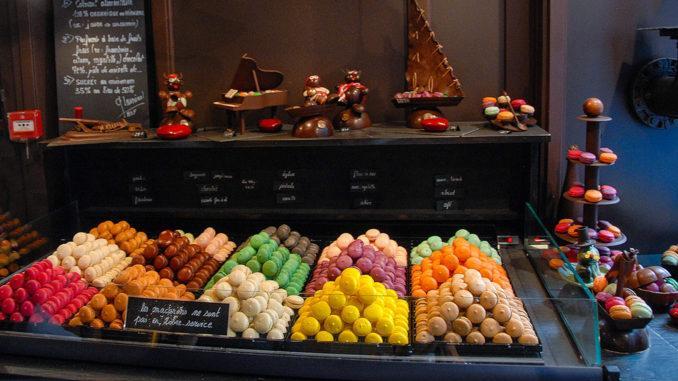Miam! Macarons aus Nants. Foto: Hile Maunder