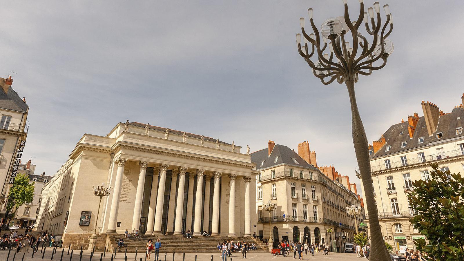 Nantes: Place Graslin. Foto: Hilke Maunder