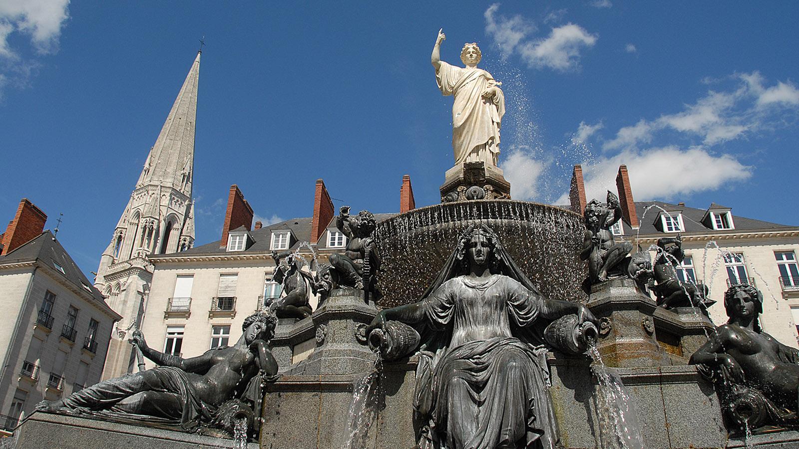 Nantes: Place Royale. Foto: Hilke Maunder