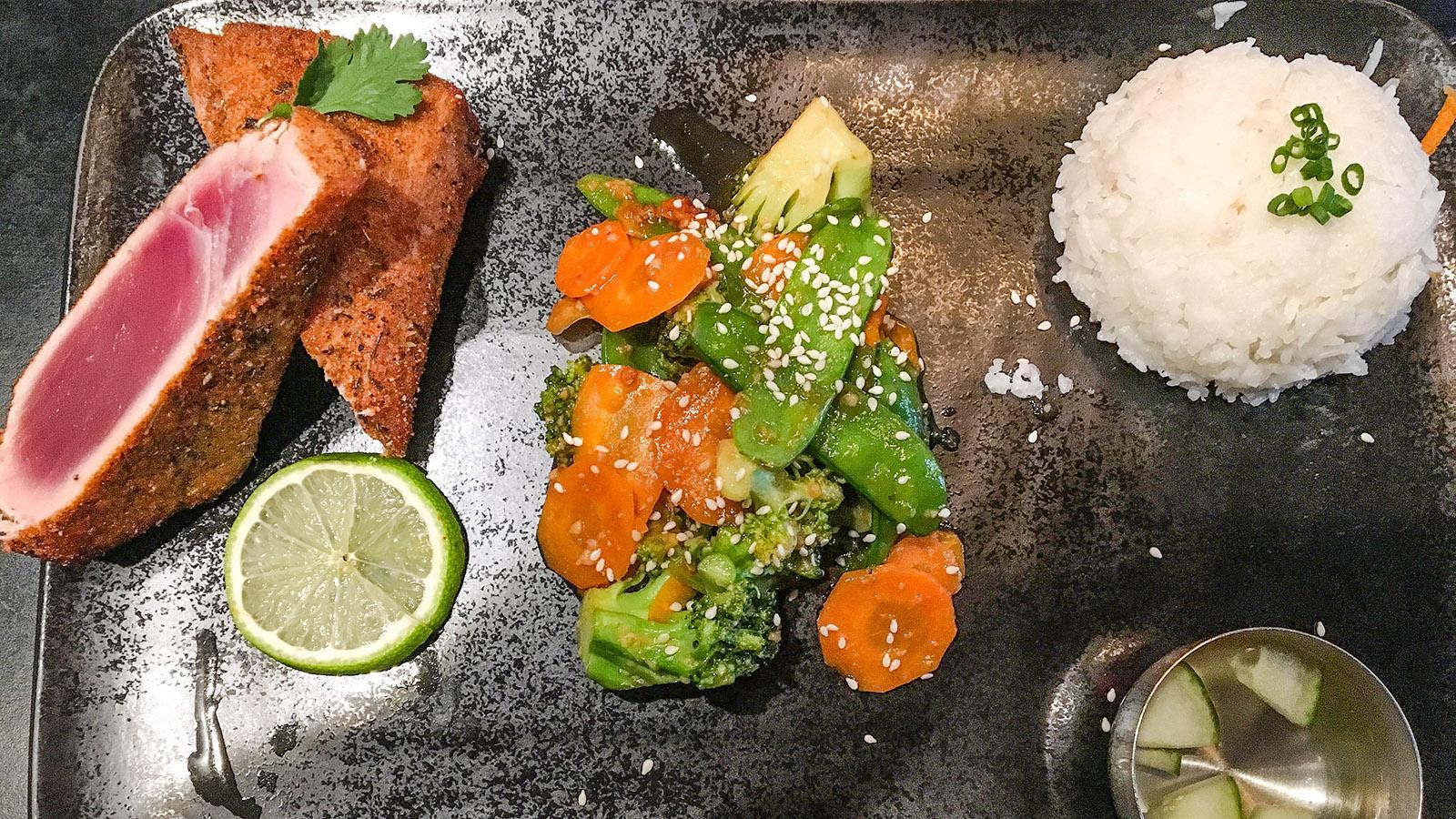 Nantes: Restaurant Wok. Foto: Hilke Maunder