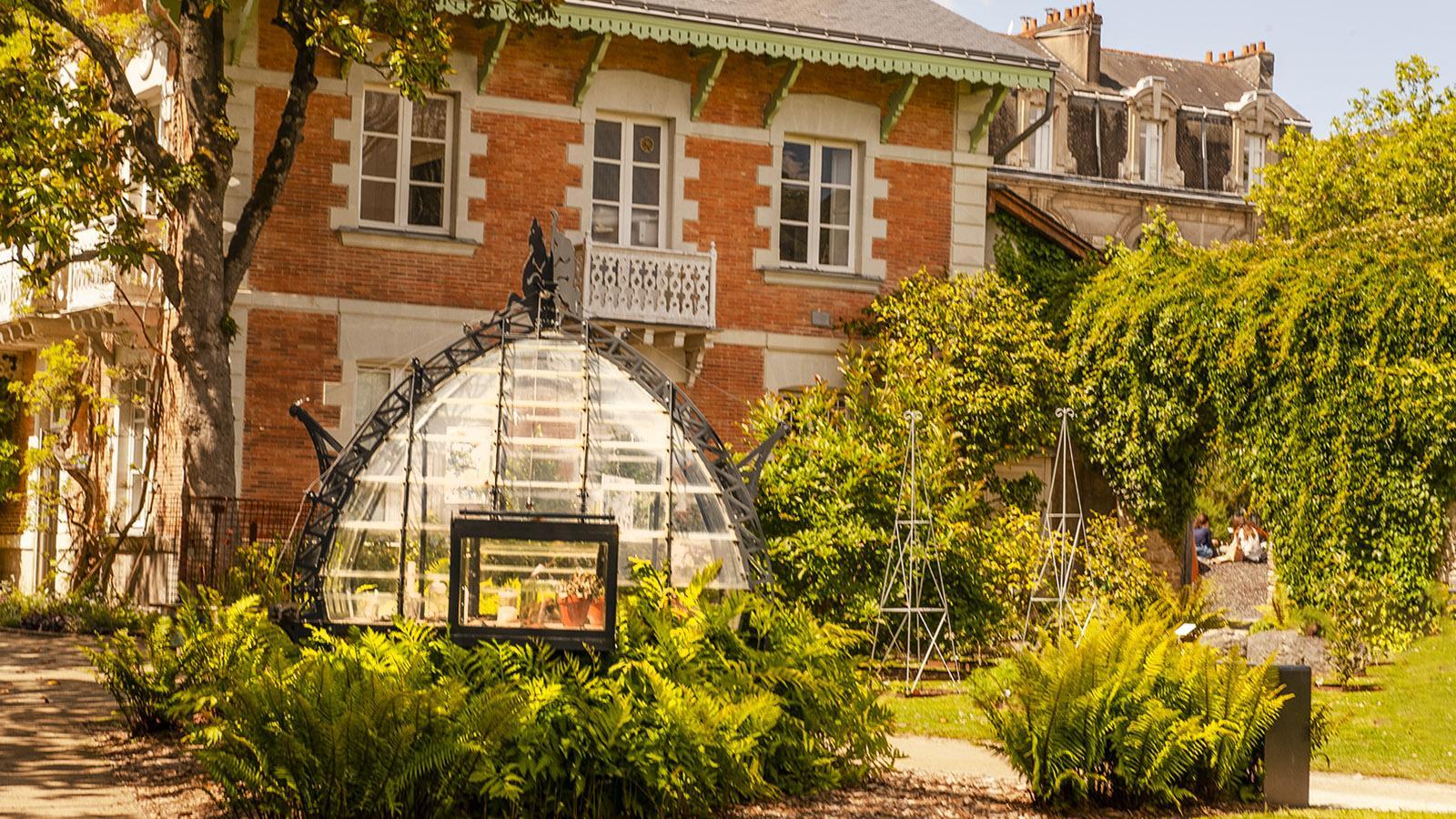 Nantes: Gewächshaus im Jardin des Plantes. Foto: Hilke Maunder