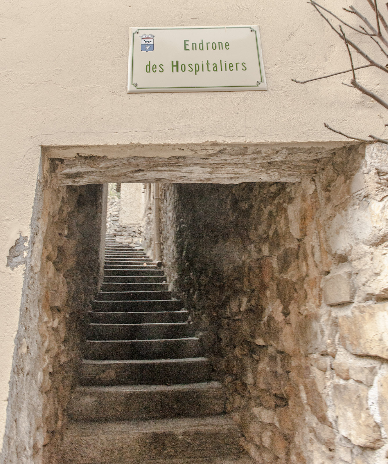 Die Treppenwege von Gréoux. Foto: Hilke Maunder
