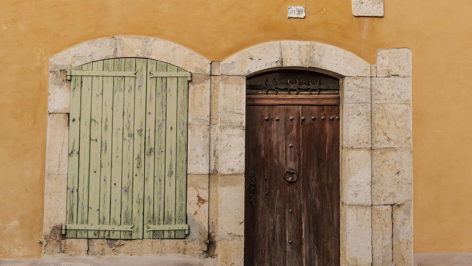 In der Altstadt von Gréoux. Foto: Hilke Maunder