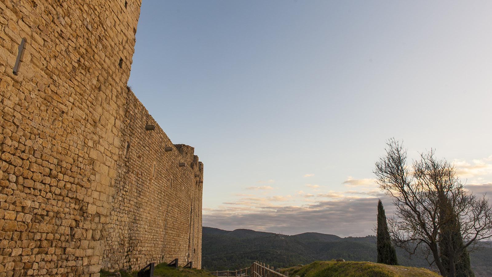Die Tempelritterburg von Gréoux. Foto: Hilke Maunder