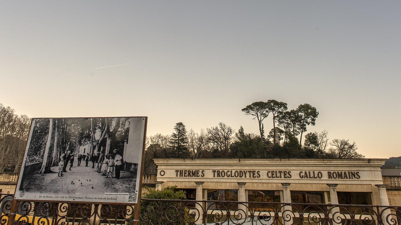 Haute-Provence: Die Thermen von Gréoux-les-Bains. Foto: Hilke Maunder