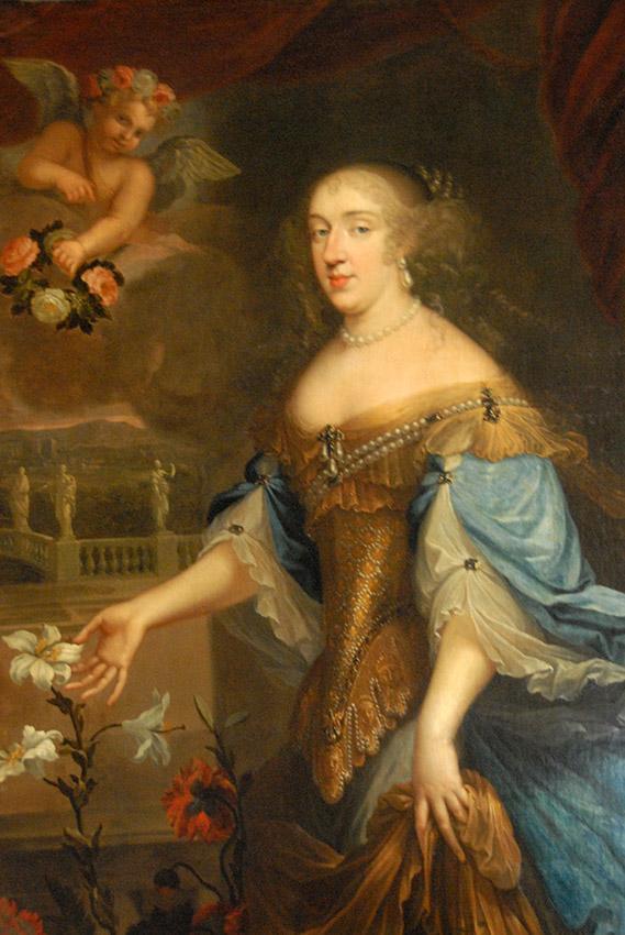 Schloss Versailles: Anne Marie Louise d'Orléans – ihre Mutter starb sechs Tage nach der Geburt. Foto: Hilke Maunder