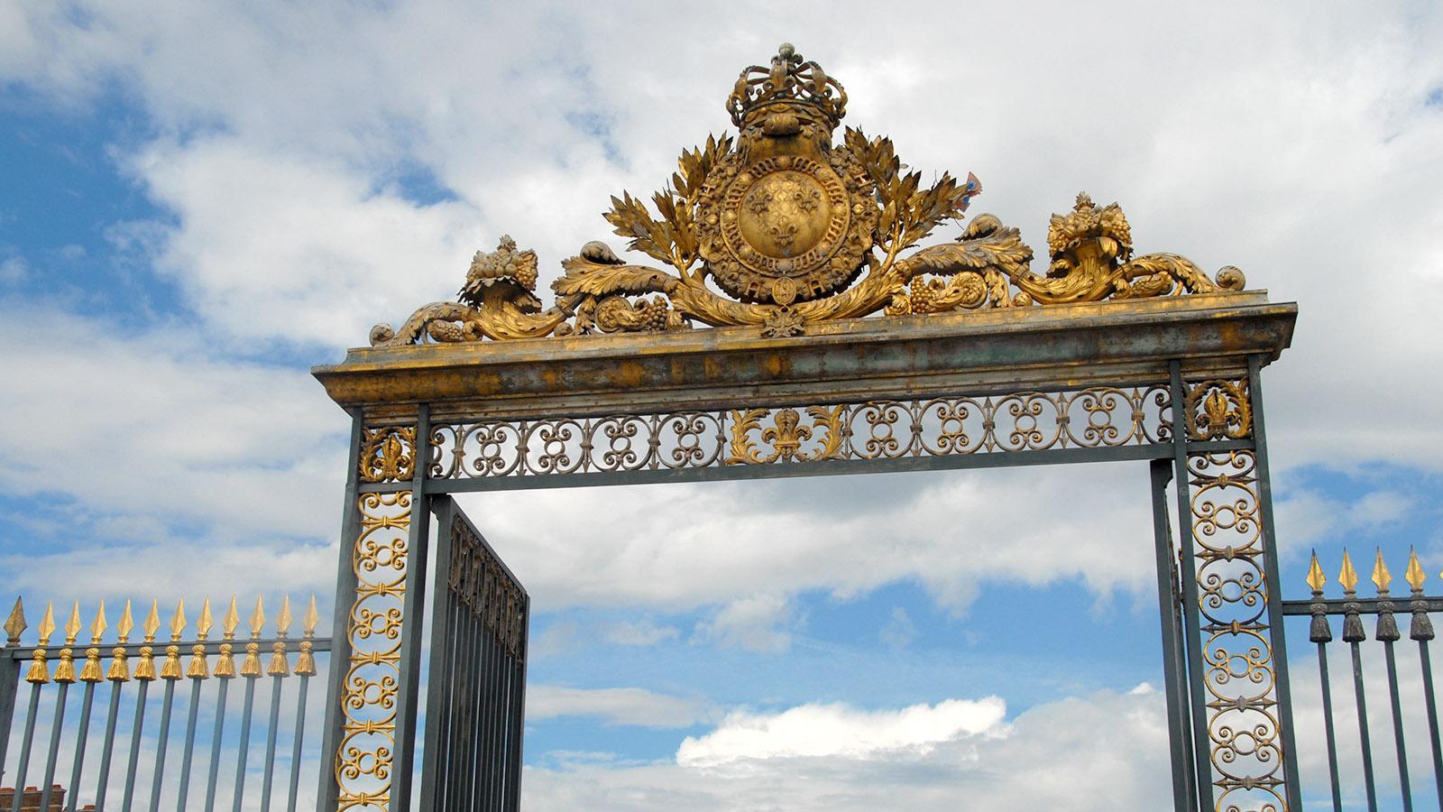 Schloss Versailles. Grille d'Honneur. Foto: Hilke Maunder